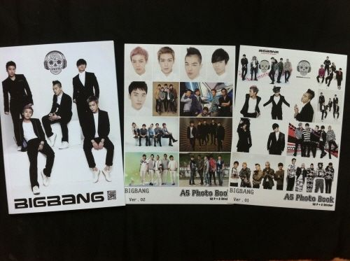 BIG BANG BIGBANG COLLECTION PHOTOBOOK + 2 STICKERS